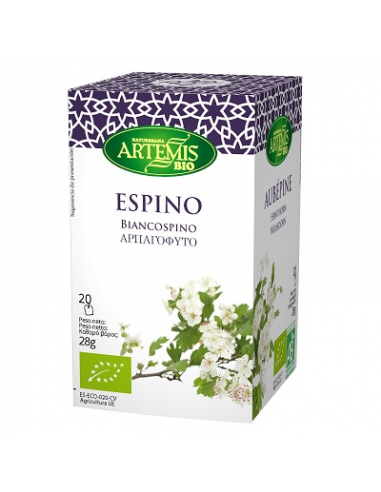 Espino blanco Bio 20 filtros Artemis