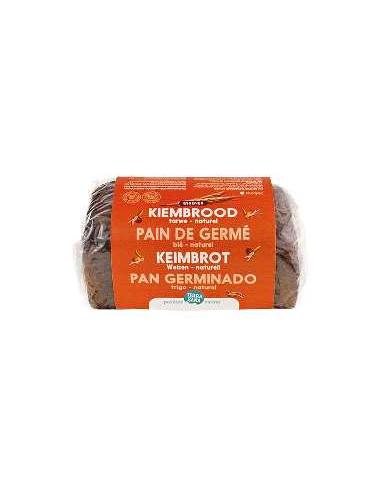 Pan germinado de trigo Bio 400g...