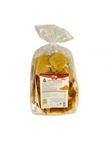 Mini Crackers de espelta cúrcuma 250g...