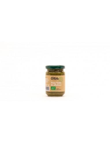 Pesto verde de albahaca Bio 140g...