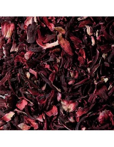 Flores de hibiscos Granel