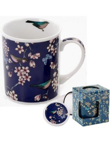 Taza Nessie porcelana 250ml filtro y...
