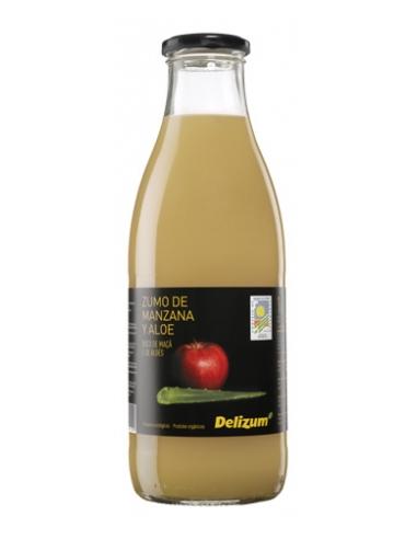 Zumo de manzana con aloe Bio 1l Delizum