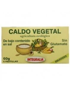Caldo vegetal bajo en sal...
