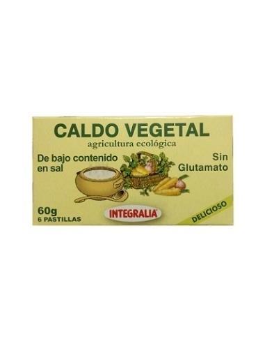 Caldo vegetal bajo en sal Bio 60g...