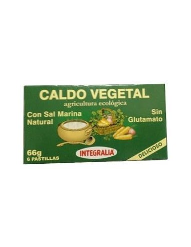 Caldo vegetal con sal marina Bio 66g...