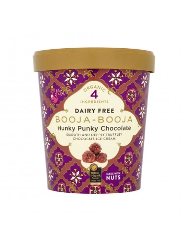 Helado vegano de chocolate 500ml...