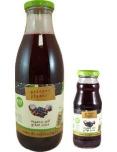 Zumo de uva tinto Bio 1l...
