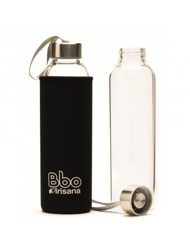Botella BBO funda neopreno negra...