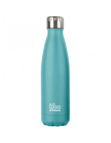 Botella BBO termo acero inox turquesa...
