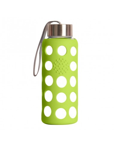 Botella BBO funda silicona verde...