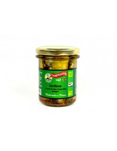 Sardinas en aceite de oliva virgen...