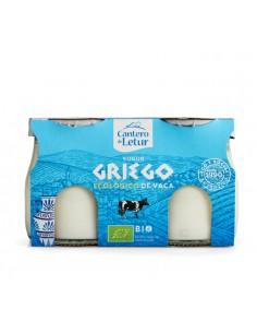 Yogur griego de vaca bio...