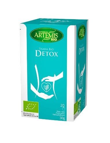 Infusión Detox 20 filtros Artemis