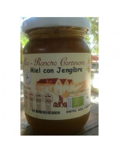Miel con jengibre Bio 250g Rancho...