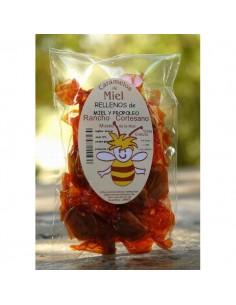 Caramelos rellenos de miel...