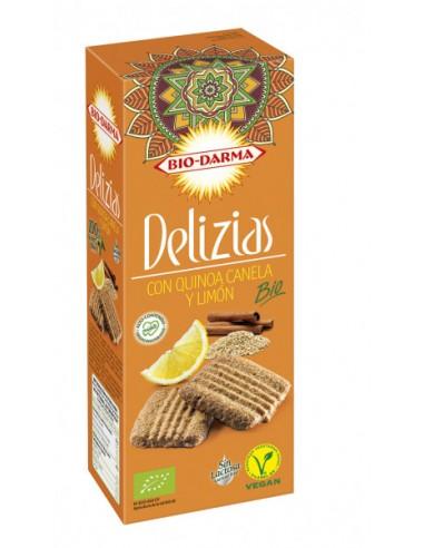 Delizias quinoa canela y limón Bio...
